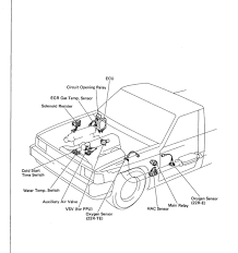 where is the efi main relay located?? toyota 4runner forum 1985 Toyota Pickup Fuse Box Diagram at 1985 Toyota Pickup Fuse Box Location