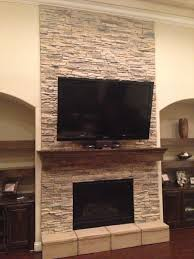Dining News Stacked Stone Fireplace On Fireplaces Stacked Stone Fireplace  Stacked Stone Fireplace On House Tour