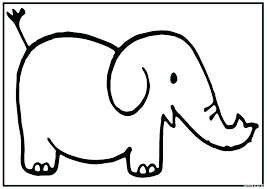 Baby Elephant Coloring Page Baby Elephant Coloring Pages Page Cute