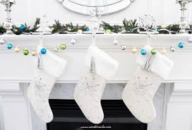 AM Dolce Vita: DIY Initial Christmas Stockings