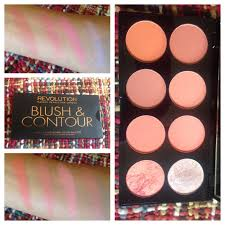 makeup revolution ultra blush and contour palette in hot e review