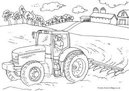 Farm Equipment Coloring Pages Farm Coloring Farm Free Coloring Pages