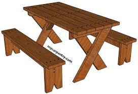 picnic table plans round picnic table plans pdf