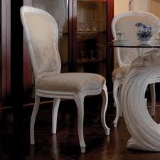 exclusive italian pedestal round glass dining table set