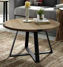 From colorful designs to wood styles, these are the best picks for your home. 30 Rustic Urban Industrial Wood Metal Wrap Round Coffee Table In Rustic Oak Black Walker Edison Af30mwctro