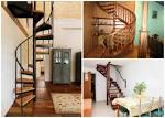 Варианты лестниц на мансарду
