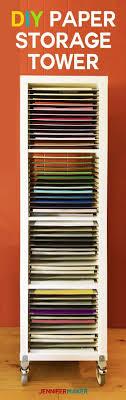 save paper storage diy 12 x 12 sbook paper storage tower ikea