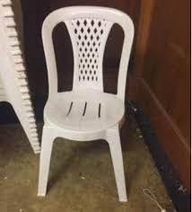 Secondhand Chairs And Tables Plastic Bistro Chairs White