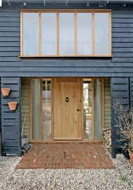 barn front doorOrlestone Oak were commissioned to design manufacture and install