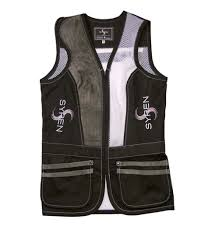 Castellani Shooting Vest Size Chart Syren Womens Shooting Vest Black