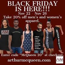 Arthur McQueen Inc. - Early Black Friday Sales | Facebook