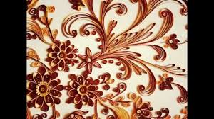 wall frame with paper quilling flowers baroque wall paper