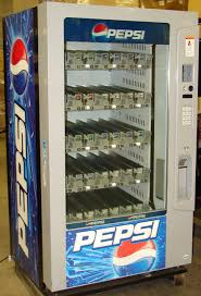 Pepsi Glass Bottle Vending Machine