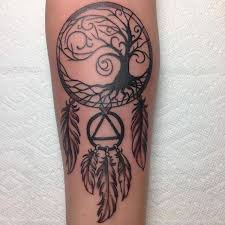 Breast Cancer Dream Catcher Amazing Breast Cancer Dream Catcher Tattoo Dream Catcher On My Shin For My