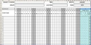 attendance spreadsheet excel attendance sheet template young gucci
