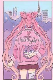 Cute pink lady/Sailor Moon Journal ...
