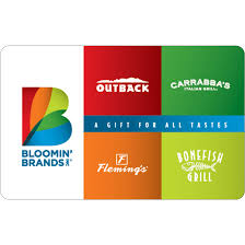 bloomin brands gift cards