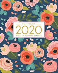 2020 2020 Weekly Planner Amazon Com 2020 Planner Weekly And Monthly Jan 1 2020 To