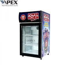 commercial countertop display fridge single glass door appearance luxury images