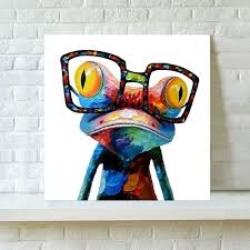 unframed canvas prints fashion home decor wall art picture happy sunglasses frog on home decor wall art australia with unframed canvas prints fashion home decor wall art picture happy