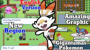 Pokemon sword and shield English version | Pokemon gba rom hack 2021
