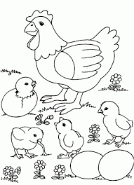 Small Picture Coloring Pages Farm Coloring Page For Kids Free Printable Picture
