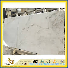china polished castro white marble slab for kitchen countertops yqw