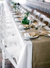rustic table cloth