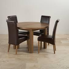 knightsbridge round extending dining table set table 4