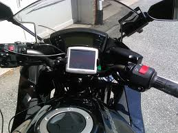 Mounting Tomtom One On Kawasaki Ninja 650r Gallery Article
