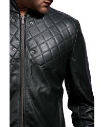 green hooded leather jacket
