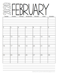 Our 8.5x11 calendar can be customized any way you want! Beautifully Tarnished Free 2020 Lined Monthly Calendars Printable Download