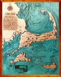 Cape Cod Wood Chart Pin On Nautical