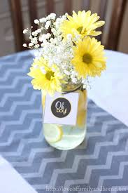 ... Charming Table Decoration Using Cheap Flower Centerpiece : Mind Blowing  Table Decorating Design Ideas With Yellow ...