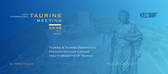 Blue Guru Inspired By Society Designed For It The 22nd International Taurine Meeting Athens Greece The