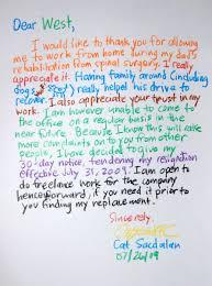 Thank You Letter To My Boss Before Leaving Granitestateartsmarket Com