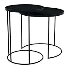 round tray coffee table round nesting tray table set of 2 tray top coffee table uk