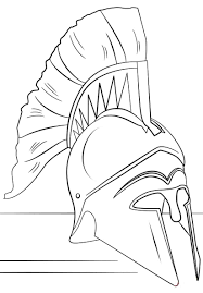 Nice Helmet Roman Soldier Coloring Pages Pictures