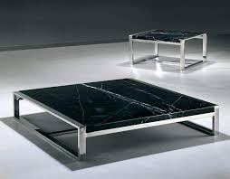 coffee table modern square marble steel gold coast