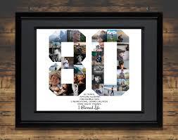 Inspirational Collages 80th Birthday Photo Collage 80th Birthday Gift Milestone Birthday Collage