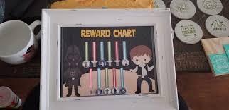 Sale Star Wars Reward Chart Instant Download Chore Chart Potty Training Star Wars Reward System Preschool Responsibility