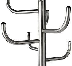 Metal Coat Rack Metal Coat Rack with Umbrella Stand 100 lb Weight Capacity 59