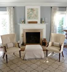 Benjamin Moore Antique Glass Our Inviting Living Room Benjamin Moore Coventry Gray Walls Pair