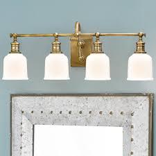 retro bathroom lighting. Antique Brass Bathroom Light For Your Lighting Decor: Exciting Wall Mounted Retro R