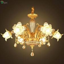 brass crystal chandelier made in spain brass and crystal chandelier