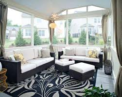 the porch furniture. Screened In Porch Furniture Inspiration For A Large Timeless Back Remodel With The