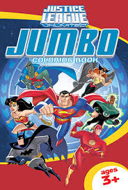 Jlu00002 Justice League Unlimited Jumbo Coloring Book Ages 3