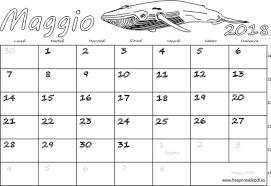 Calendario Maggio 2018 Stampabile Pdf Liberi Di Stampa
