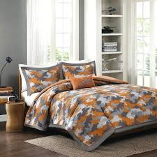orange and gray bedding sets blue comforter lime green