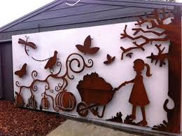 simple laser cut metal art playground at a primary school laser cut metal wall art rusted on laser cut wall art nz with laser cut metal art home exteriors